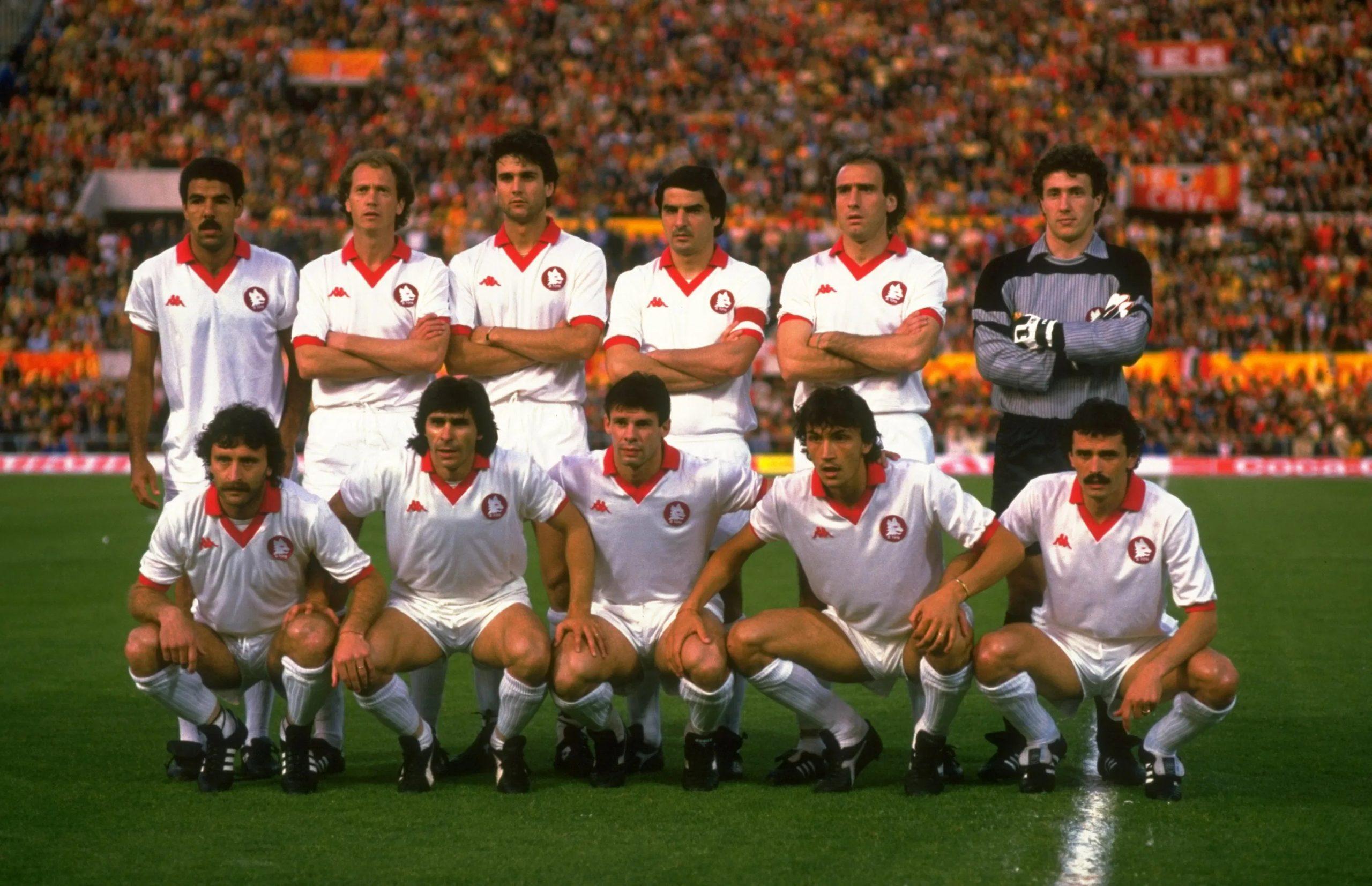 Times históricos: Roma 1980-1984 - Calciopédia