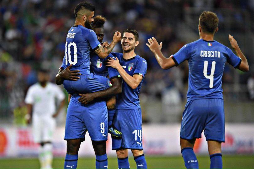 fd2a9840f2fcd Na estreia de Mancini, Balotelli carregou a Itália contra a Arábia Saudita