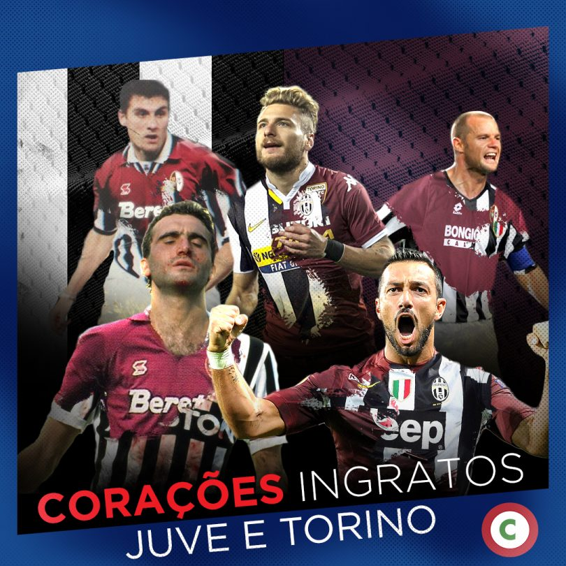 Corações ingratos  os jogadores que defenderam os rivais Juventus e Torino 89e51e1b0912f