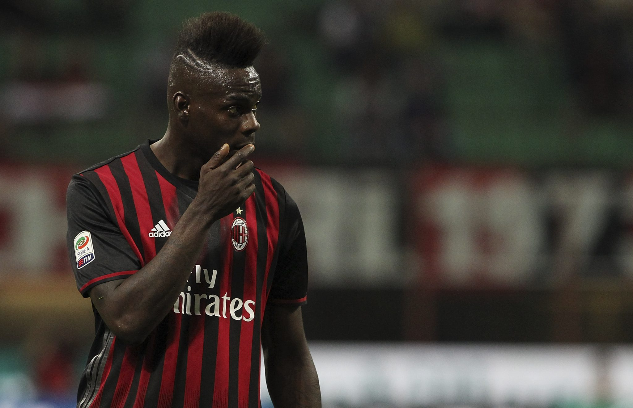 Assim como Shevchenko, Balotelli marcou poucos gols em seu retorno ao Milan (Getty)