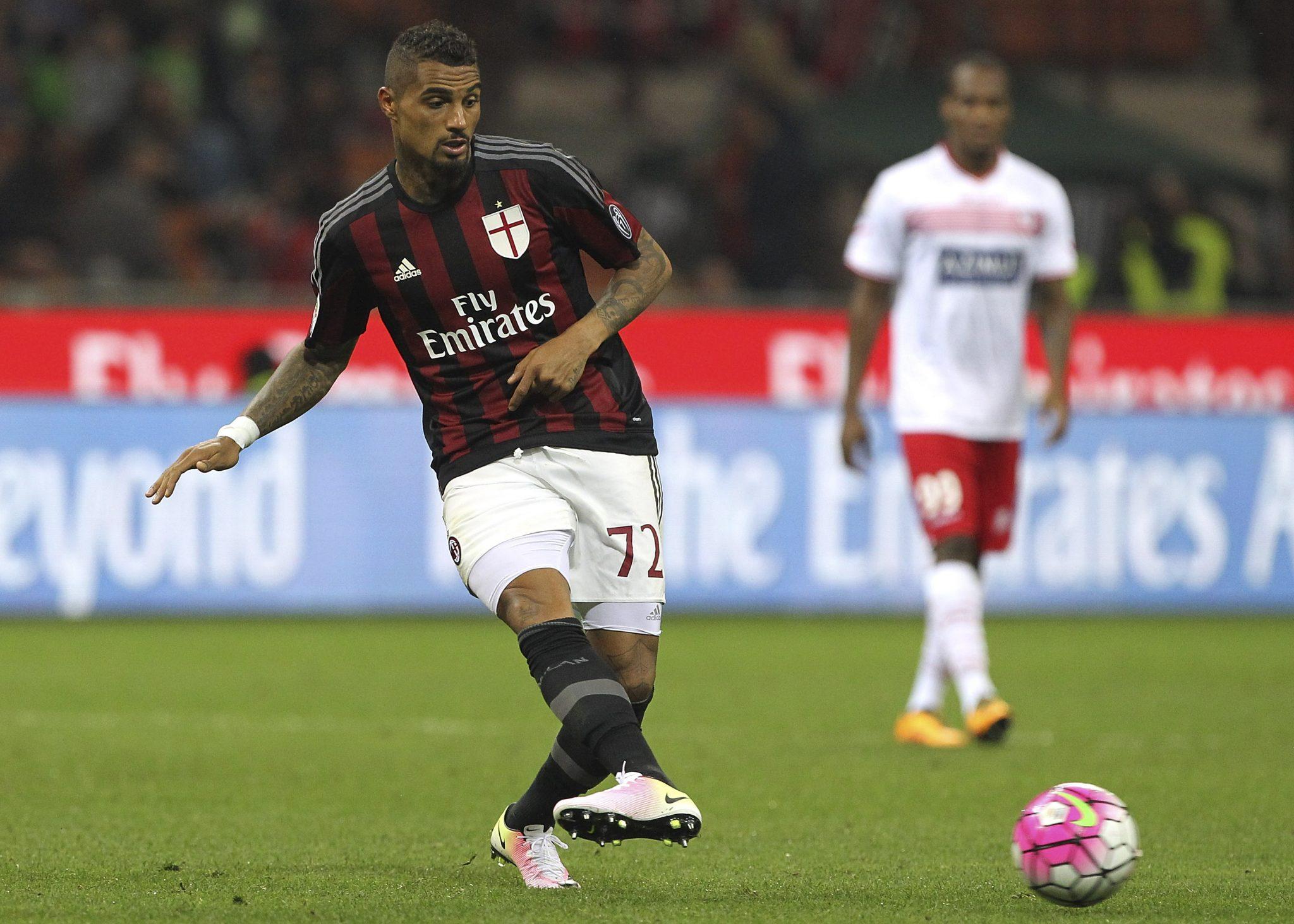 A segunda passagem de Boateng pelo Milan durou apenas alguns meses (Getty)