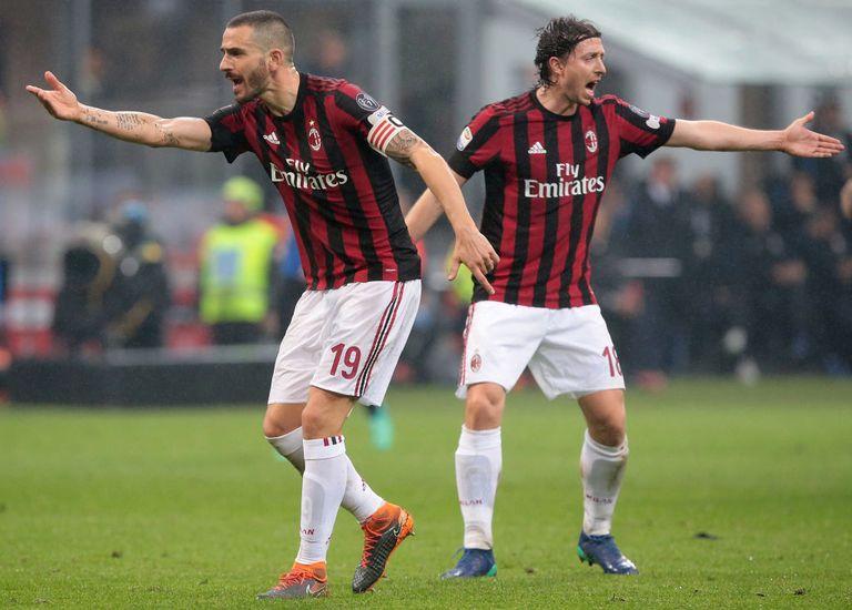 No Milan, Montolivo perdeu a braçadeira de capitão para Bonucci (Getty)