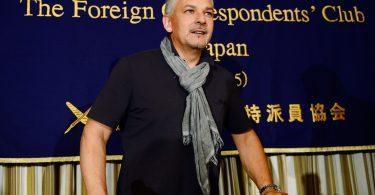 Roberto Baggio em evento no Japão