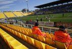 Aquecimento para Parma x Spal, jogo de portões fechados pela Serie A