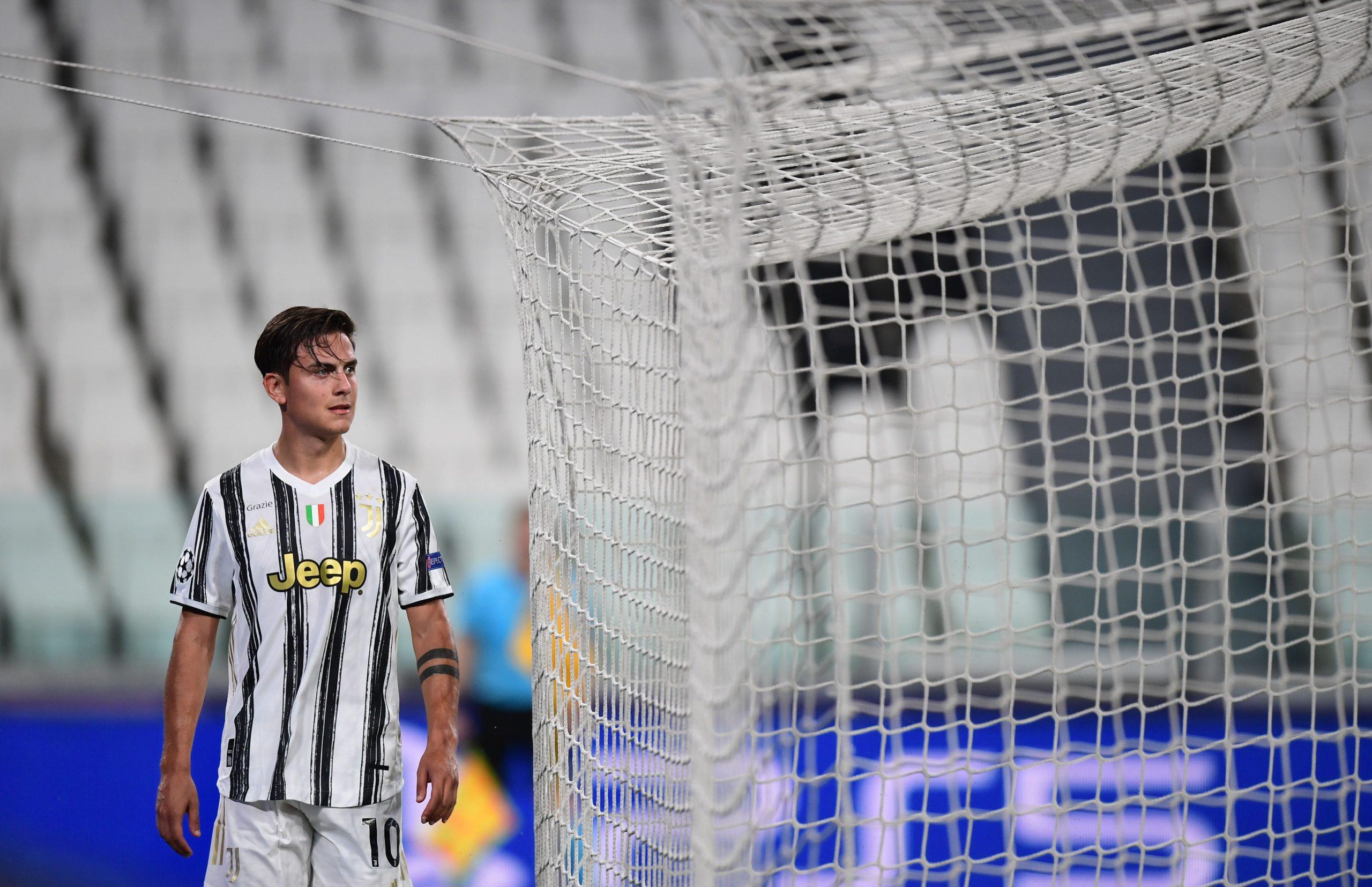 Dybala tentou ajudar a Juventus